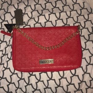 Red guess clutch NEW